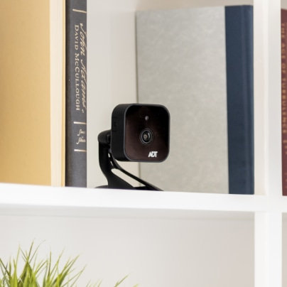 Bend indoor security camera
